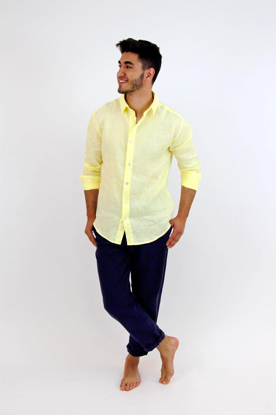 SHIRT FORMENTERA - XXL - Yellow