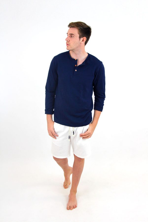 LONG TSHIRT FIRENZE - XXL - Navy